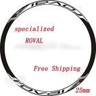 New specialized ROVAL classic Mountain bike wheel rim decal for MTB race sticker