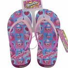 Shopkins Cupcake Chic Wedge Sandals Flip Flops Beach Girls Shoes Size S