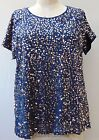 EVENING / CHRISTMAS SEQUINS TUNIC TOP PLUS SIZE 16 TO 32 BLACK, NAVY, BURGUNDY