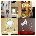 12pcs 3d Mirror Hexagon Vinyl Removable Wall Sticker Decal Home Decor Art Diy #w