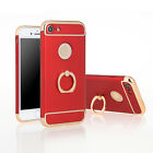 3 in 1 Removable 360 Degree Protect PC Back Case Ring Holder F iPhone6 6S 7 Plus