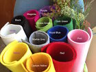 5mm Thick Polyester Felt Fabric Sheet - 100 x 100 cm (1 meter) - 12 colors