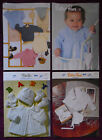 Wendy Baby's Knitting Patterns Sweaters Cardigans - Choose from Drop-down Menu