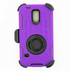 Shockproof Rugged Armor Samsung Galaxy S5 V Belt Clip Holster Stand Case Cover