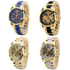 4 colors Fashion Men Stainless Steel Army Quartz Luxury Wrist Watch Rome Scale