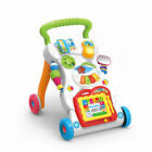 MUSICAL BABY ACTIVITY PUSH WALKER / PLAY STATION - 4 In 1 or 2 In 1