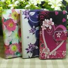 Lovely Beautiful Flower Rose Wallet Flip case cover for Microsoft Nokia Lumia