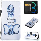 Hot Pattern Magnetic Flip Leather Wallet Card Stand Case Cover For Samsung Phone