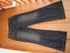 DIESEL 55DSL PACKERING PANT SLOUCHY WIDE FLARE FLARES JEANS 28 WAIST UK 10 SMALL
