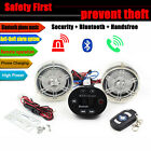 40W Motorcycle Horn Amplifier MP3 Music Audio System Speaker Alarm Anti-Theft