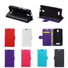 6Colors Leather Folio Flip stand Cover Case For ASUS Mobile Phones 01