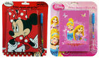 DISNEY DELUX AGENDA WITH GEL PEN MINNIE MOUSE PRINCESS DIARY NOTEBOOK GIRLS