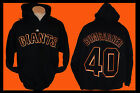 SAN FRANCISCO GIANTS  Hooded Sweatshirt Black Hoodie MADISON BUMGARNER # 40 on Ebay