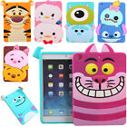 Kids 3d Cute Cartoon Soft Silicone Gel Back Case Cover For Ipad 2 3 4/mini/air 2