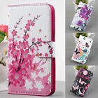 Magnetic Flip PU Leather Wallet Stand Case Cover For Samsung GalaxyS3 4 5 NoteUB