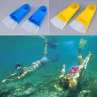 Silicone Swimming Snorkeling Training Short Fins Swim Flippers Youth Adult UB