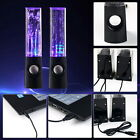 LED Dancing Water Speakers Music Fountain Light for iPhone iPad Computer LaptUB
