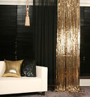 4FTx8FT Gold Sequin Backdrop for Photography Sequin Fabric Photography Backdrops