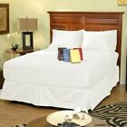 New Bedding Collection 1000 TC 100%Egyptian Cotton Queen White Solid Choose Item