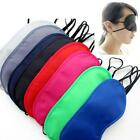New Eye Mask Travel Sleep Sleeping Relax Soft Cover Shade Plane Blindfold LJ