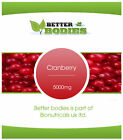 Cranberry 5000mg Tablets PACK RANGE FROM 30 - 180 TABLETS