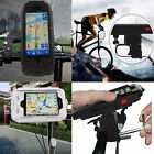 Waterproof Case Cover Bike Bicycle Handlebar Mount Holder For iphone 5 5S 6 6s