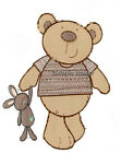 I LOVE MY BEAR wall sticker (choice of 4 PRE-CUT images in 2 sizes) + DISCOUNTS