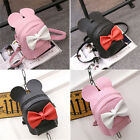 Women's Satchel Shoulder Backpack School Rucksack Bags Travel Fashion PU Leather