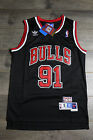 Dennis Rodman #91 Chicago Bulls Jersey Throwback Vintage Classic Retro Black New