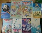 Rainbow Brite Vintage VHS See & Read The Risky Rescue & Other Stories 1980's