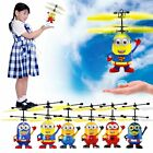 Despicable Me Flying Aircraft Minion Helicopter children Toys Bauble Gift