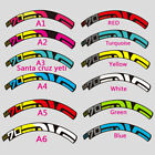 Mountain Bike Bicycle wheels set rim Stickers MTB M70 HV yeti Santa Cruz decals