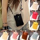 Women Mini Shoulder Bags Crossbody Messenger Bag Clutch Cell Phone Pouch Handbag