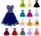 New Stock Short Formal Prom Dresses Evening Party Ball Gowns Bridesmaid Cocktail