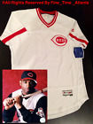 IMPOSSIBLE TO FIND NEW Deion Sanders Cincinnati Reds Mens Home Throwback Jersey