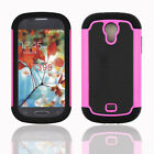 Shockproof IMPACT Rugged Dual Hybrid Armor Samsung Galaxy Light T399 Case Cover