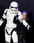 CARRIE FISHER 67 WITH STORM TROOPER (PRINCESS LEILA STAR WARS) PHOTO PRINT