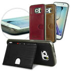 Pierre Cardin For Samsung Galaxy S6/ S6 Edge Card Slot Wallet Leather Case Cover