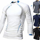 Mens Beach Water Sports Rash Guard Wetsuits Long Sleeve Top Summer Swimwear M476