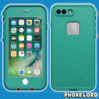 Genuine Lifeproof Fre Frē case cover iPhone 7 PLUS waterproof Sunset Bay Teal