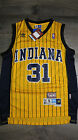 Reggie Miller 31 Indiana Pacers Jersey Throwback Vintage Classic Yellow