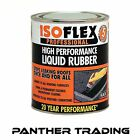 Isoflex Waterproofing Roof Seal High Performance Liquid Rubber Black - 3 Sizes