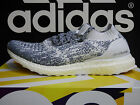 NEW AUTHENTIC ADIDAS Ultra Boost Uncaged Men's Running Shoes -White/Navy; BA9616