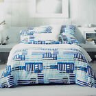 King- Sheridan Holtby Overlap Stipe Quilt Cover Pillowcases Set