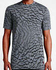 New Nike Air Jordan 23 Tech Extended Printed AOP Mens T-Shirt Grey 748384-065