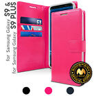 GOOSPERY® [BlueMoon] Wallet Case Cover Flip PU Leather For iPhone Samsung LG G