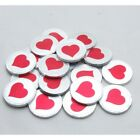 10 - 200 MILK CHOCOLATE COINS LARGE HEART VALENTINES DAY WEDDING PARTY FAVOURS