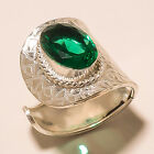 VERY BEAUTIFUL 925 STRELING SILVER PLATED GEMSTONE RING JEWELLERY