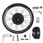 "48V Electric Bicycle E-Bike 26"" Front Rear Wheel Conversion Kit Cycling Motor"