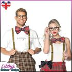 Ladies Mens Couples Unisex School Nerd Geek Kit Sexy Hen Stag Do Fancy Dress Set